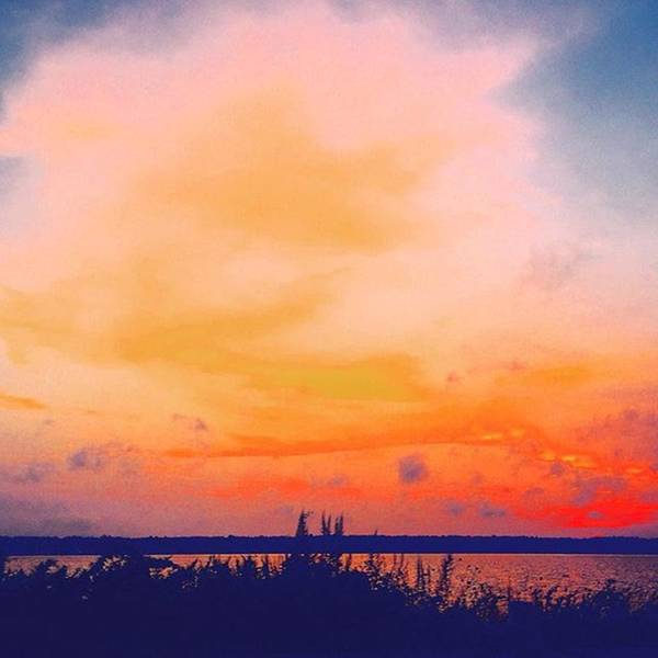 Massachusetts Poster featuring the photograph Southcoast Sunset by Kate Arsenault