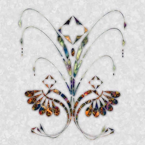 Art Nouveau Poster featuring the digital art Nouveau 4 by Gae Helton