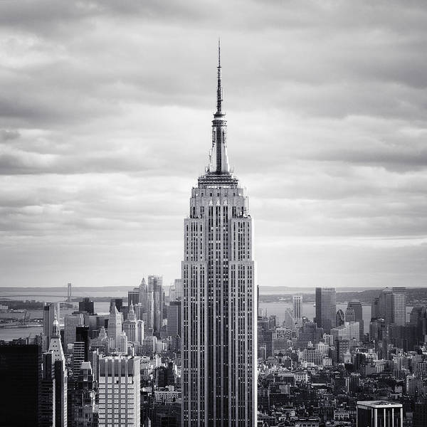 New Poster featuring the photograph Nyc Empire by Nina Papiorek