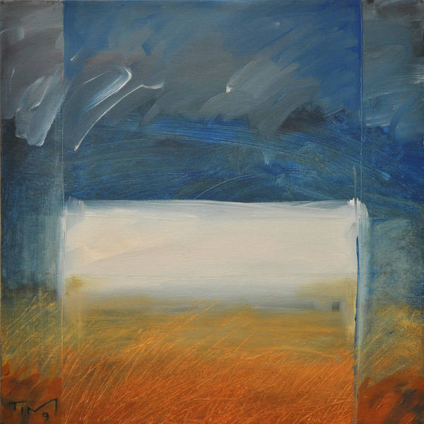 Rothko Poster featuring the painting Old Macrothko Had A Farm by Tim Nyberg