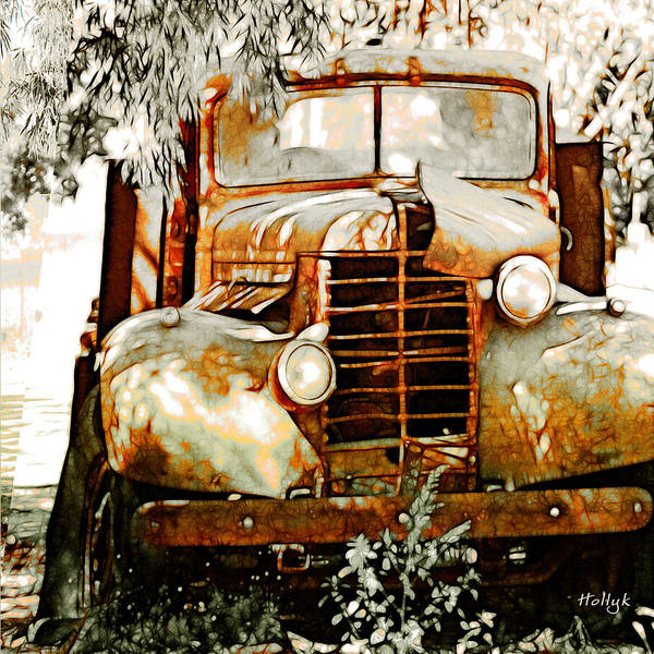 Transportation Poster featuring the photograph Old Memories Never Die by Holly Kempe