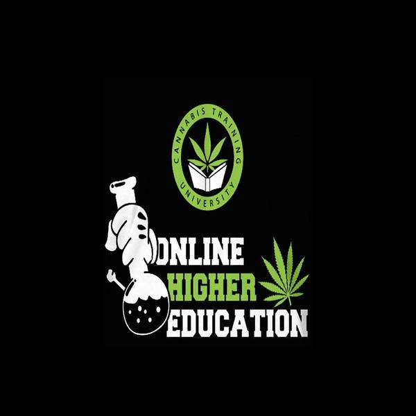 Christmas Poster featuring the digital art Online Higher Education by Thucidol