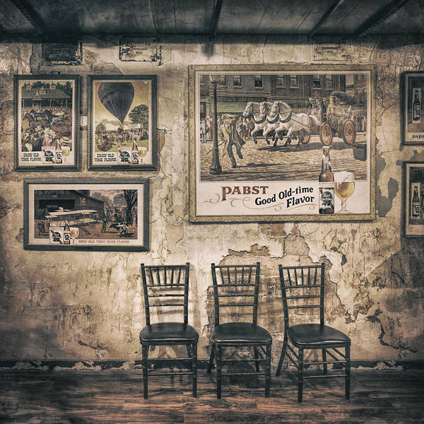 Scott Norris Photography Poster featuring the photograph Pabst Good Old Time Flavor by Scott Norris