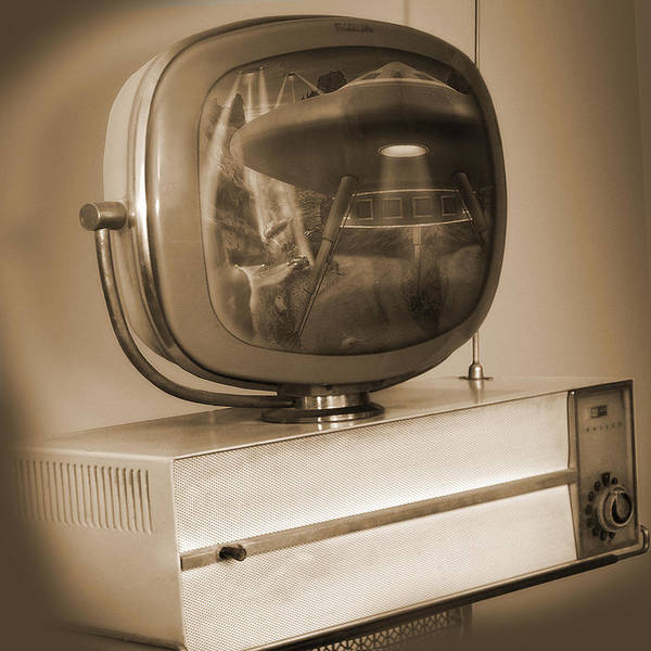 Philco Television Poster featuring the photograph Philco Television by Mike McGlothlen
