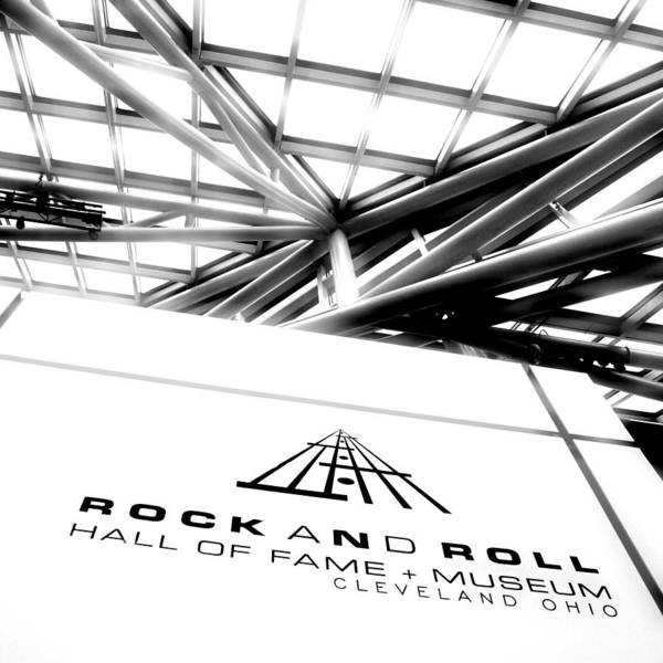 Rock And Roll Poster featuring the photograph Rock And Roll Hall Of Fame by Kenneth Krolikowski