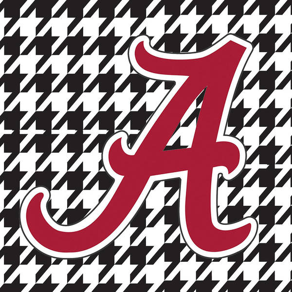 Roll Tide Poster featuring the digital art Roll Tide Mini Canvas by Greg Sharpe