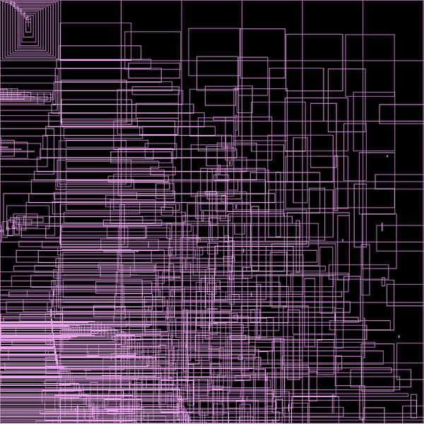 Abstract Poster featuring the digital art S.2.31 by Gareth Lewis