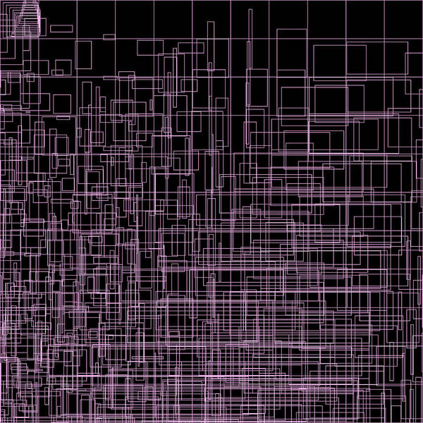 Abstract Poster featuring the digital art S.2.42 by Gareth Lewis