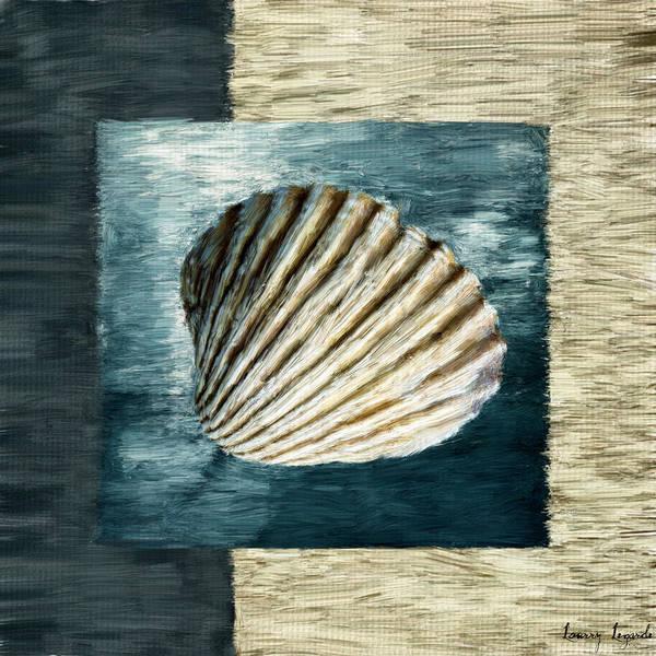 Seashell.seashells Poster featuring the digital art Seashell Souvenir by Lourry Legarde