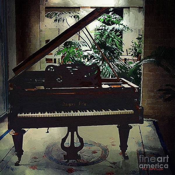 Baby Grand Poster featuring the painting Silent Symphony by RC DeWinter