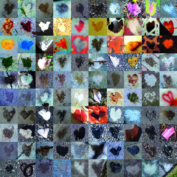 Heart Images Poster featuring the photograph Six Hundred Series by Boy Sees Hearts