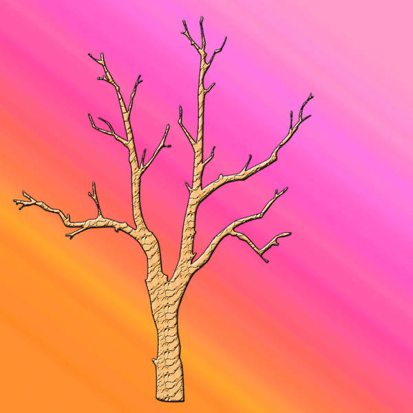 Colorful Abstract Poster featuring the digital art Soft Pastel Tree Abstract by Aimee L Maher ALM GALLERY