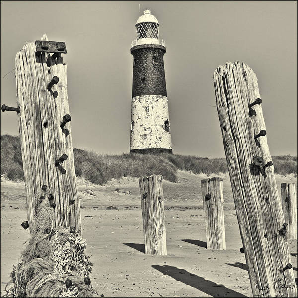 Spurn Poster featuring the photograph Spurn Lighthouse by Ray Hydes