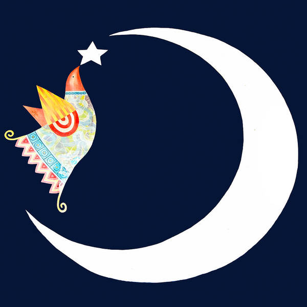 Star Poster featuring the photograph Star Bird by Munir Alawi