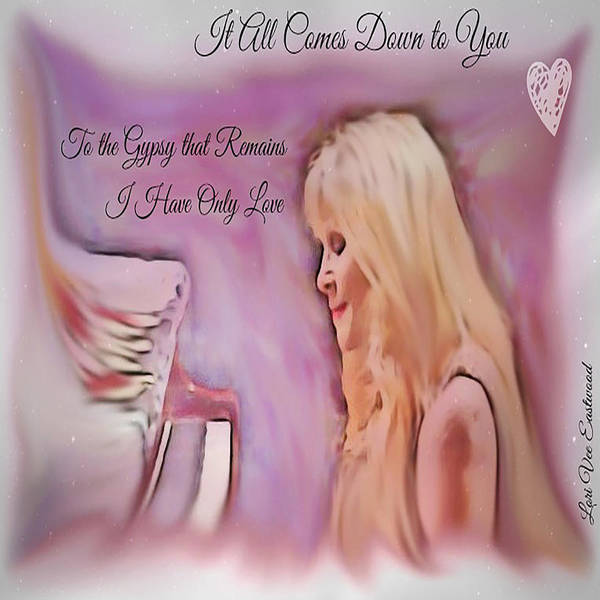 Stevie Nicks Poster featuring the painting Stevie Nicks - Gypsy by Lori Vee Eastwood Designs for Hope
