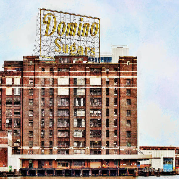 Domino Poster featuring the photograph Sugar Cube by Susan Isakson