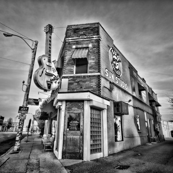 Memphis Poster featuring the photograph Sun Studio - Memphis #2 by Stephen Stookey