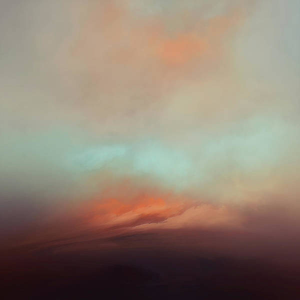 Atmosphere Poster featuring the mixed media Sunlight by Lonnie Christopher