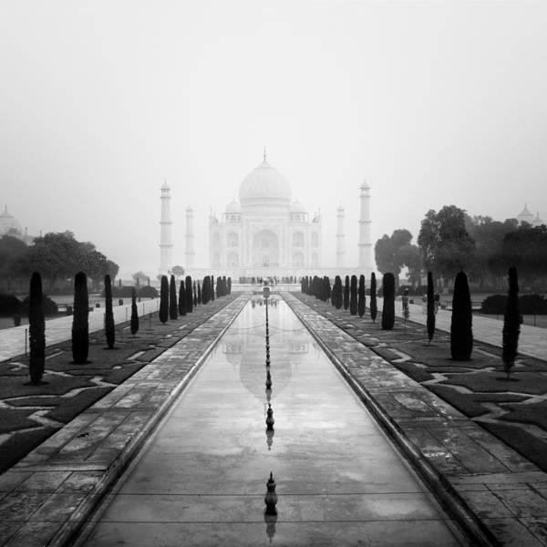 Taj Poster featuring the photograph Taj Mahal IIi by Nina Papiorek