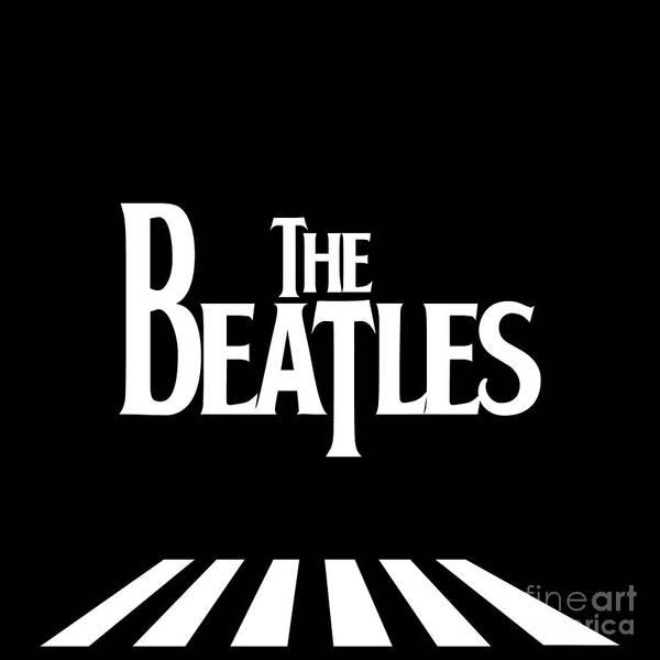 Artwork Poster featuring the digital art The Beatles No.03 by Caio Caldas