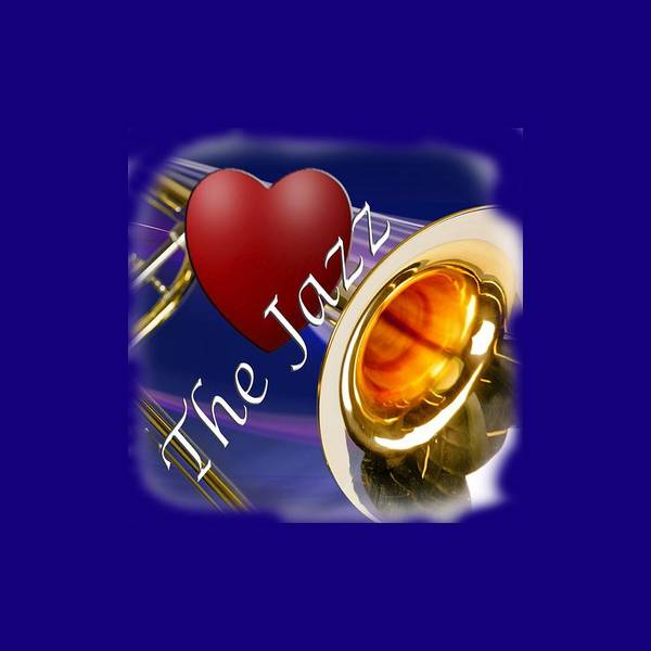 Trombone Poster featuring the photograph The Trombone Jazz 002 by M K Miller