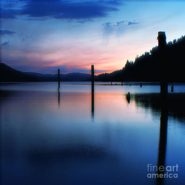 Dusk Poster featuring the photograph Twilight by Idaho Scenic Images Linda Lantzy