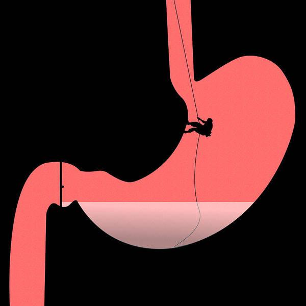 Ulcera Poster featuring the digital art Ulcera by Nestor PS