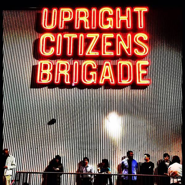 Ucbla Poster featuring the photograph Upright Citizens Brigade by Cathy Reinking