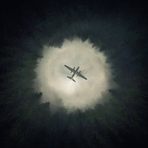 Airplane Poster featuring the digital art Way Out by Zoltan Toth