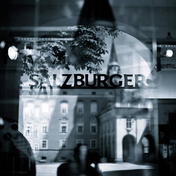 Salzburg Poster featuring the photograph Welcome To Salzburg by Dave Bowman