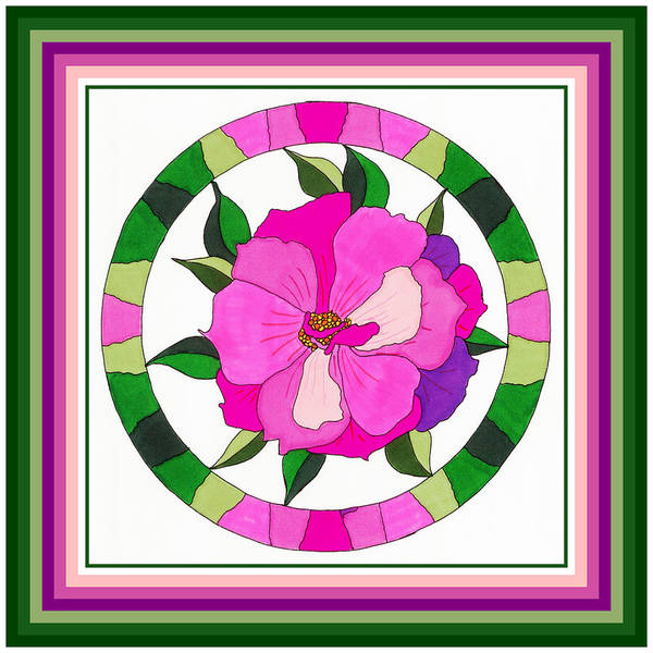 Flowers Poster featuring the painting Wild Rose by Phyllis Berka
