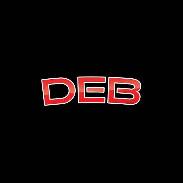 Deb Poster featuring the digital art Deb by TintoDesigns