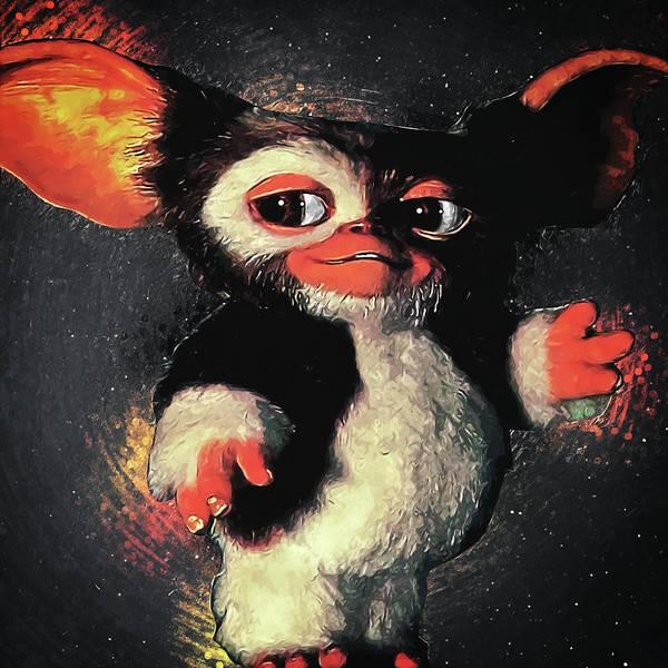 Gizmo Poster featuring the digital art Gizmo by Zapista Zapista