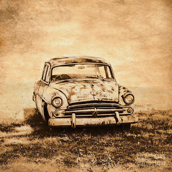 Old Poster featuring the photograph Rockabilly Relic by Jorgo Photography - Wall Art Gallery