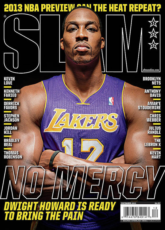 Dwight Howard Poster featuring the photograph Dwight Howard: No Mercy SLAM Cover by Atiba Jefferson