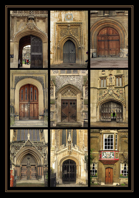 Door Poster featuring the photograph Uk Doors by Christo Christov
