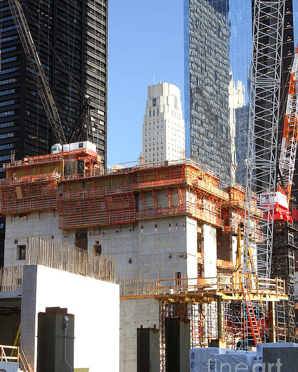 Wtc Poster featuring the photograph 3 Wtc by Steven Spak