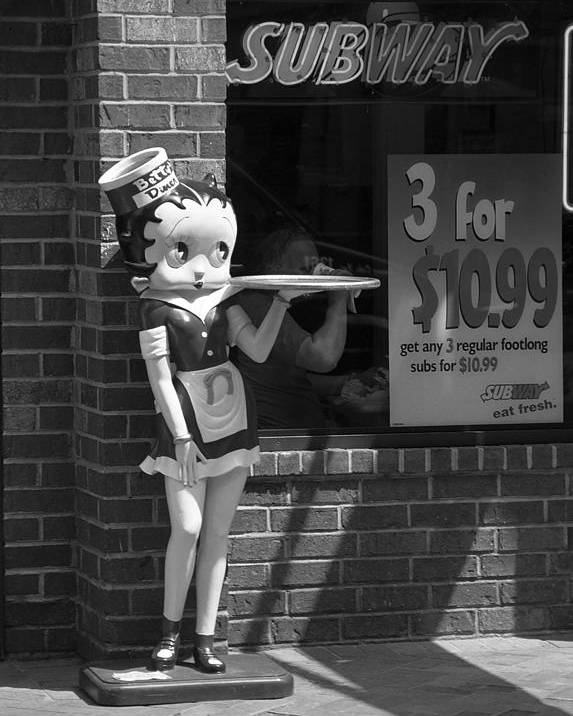 1930's Poster featuring the photograph Betty Boop 1 by Frank Romeo