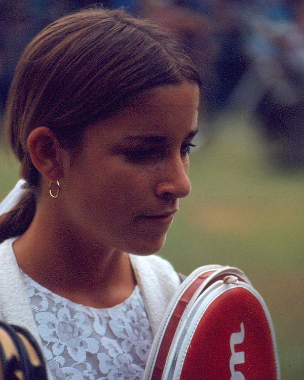 classic Poster featuring the photograph Chris Evert by Retro Images Archive