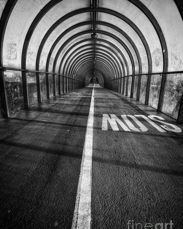Secc Poster featuring the photograph Clydeside Walkway by John Farnan