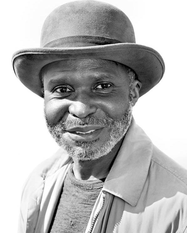 Man Poster featuring the photograph Elderly Black Man by Joe Belanger