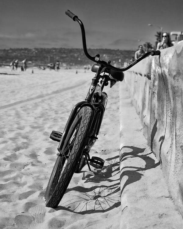 Beach Poster featuring the photograph Fat Tire by Peter Tellone