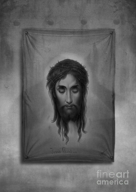 Jesus Poster featuring the photograph Jesus Christus by Edward Fielding