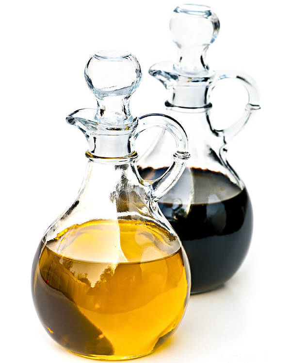 Oil Poster featuring the photograph Oil And Vinegar by Elena Elisseeva