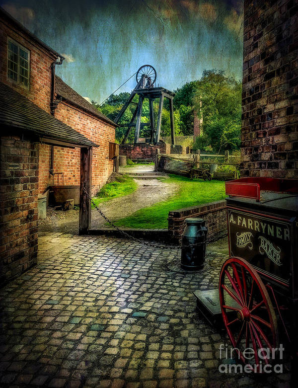 Victorian Poster featuring the photograph Old Mine by Adrian Evans