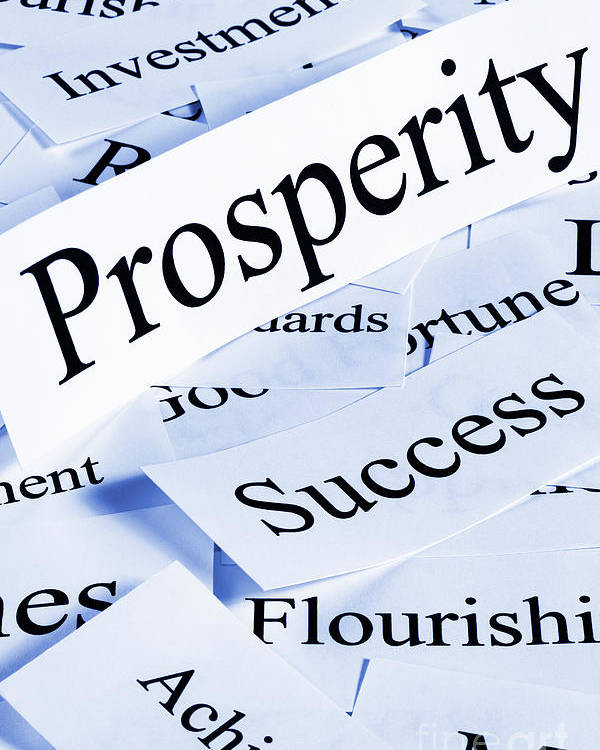 Concept Poster featuring the photograph Prosperity Concept by Colin and Linda McKie
