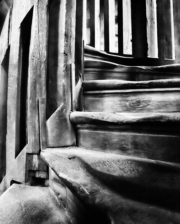 Stairs Poster featuring the photograph Spiral Staircase by John Bartosik