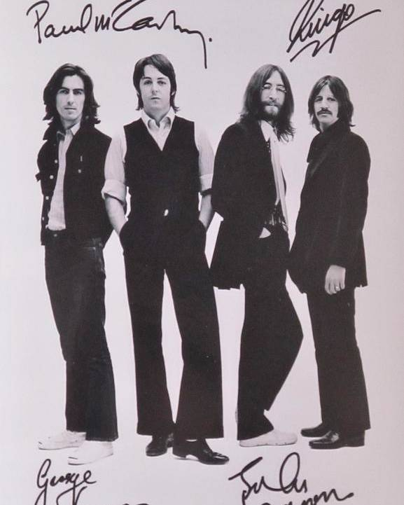 The Beatles Poster featuring the photograph The Beatles by Donna Wilson