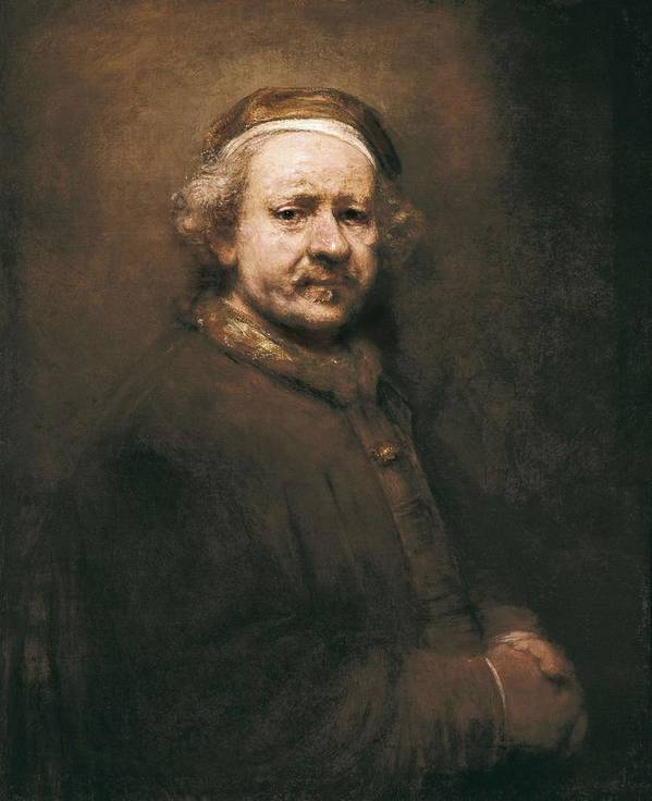 Vertical Poster featuring the photograph Rembrandt, Harmenszoon Van Rijn, Called by Everett