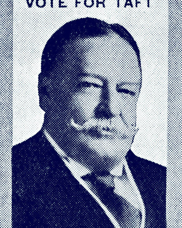 Historicimage Poster featuring the painting 1912 Vote Taft For President by Historic Image